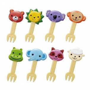 japanese-bento-box-decoration-accessories-food-pick-cute-animal-fork-8-pcs