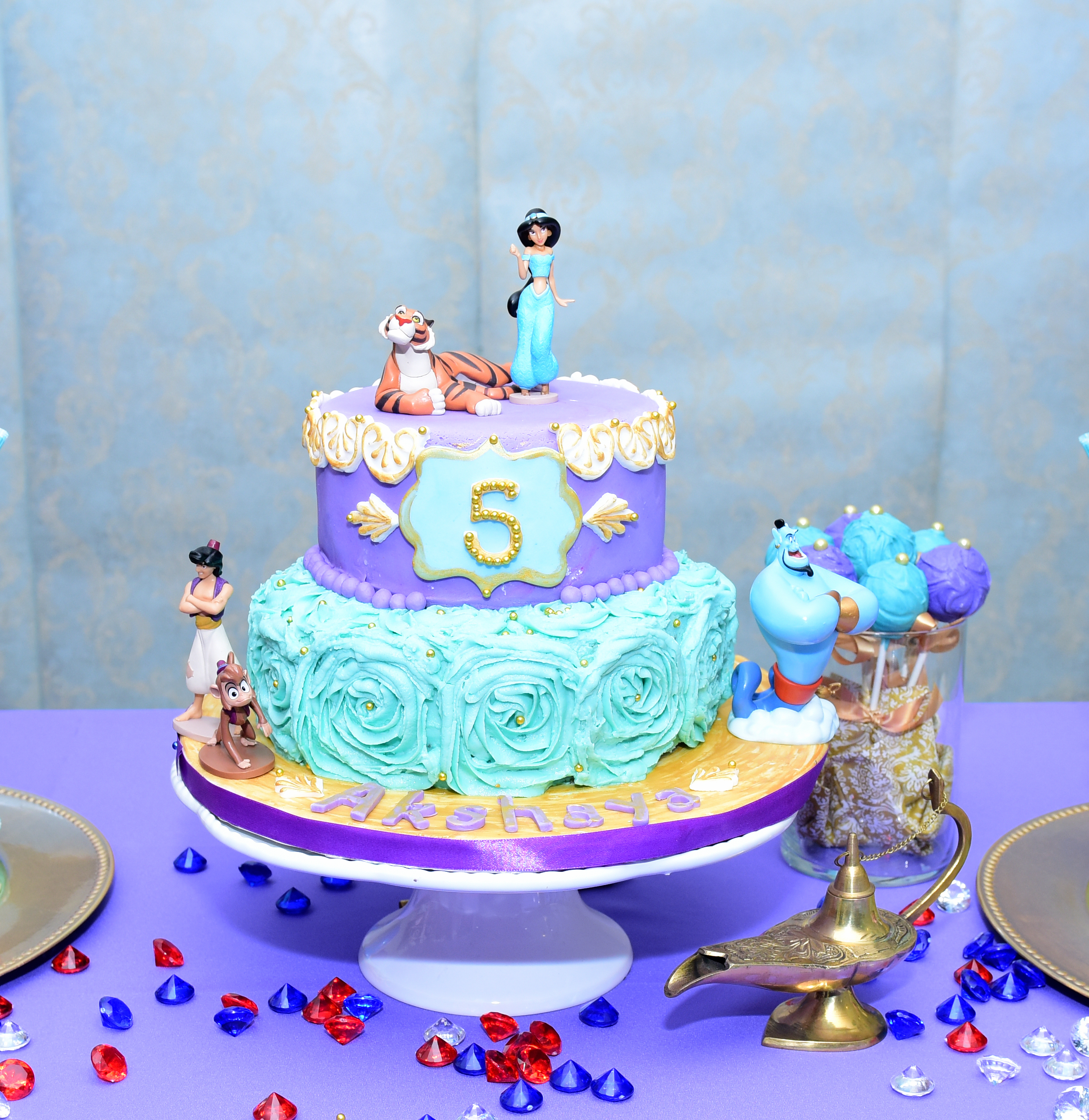 Akshaya\'s 5th Birthday – Modern Day Brown Mom